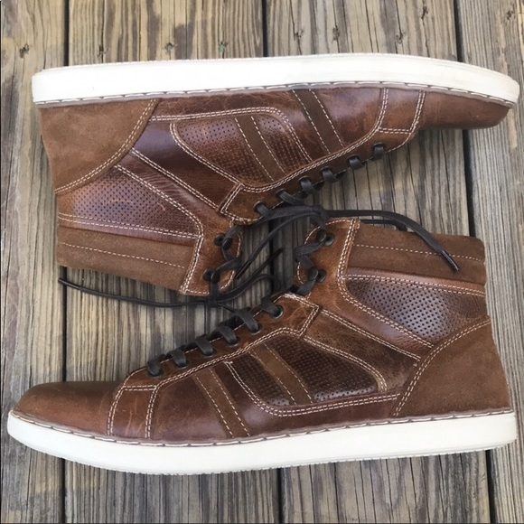 Red Tape Shoes   Leather High Tops 12